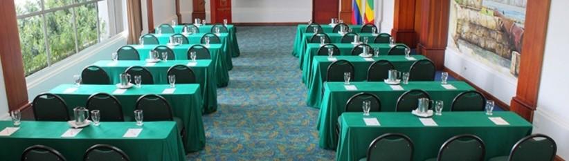 Salón de eventos. Fuente: hotelalmirantecartagena.com.co